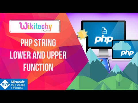 Php String Lower and Upper Function | php tutorials | wikitechy.com