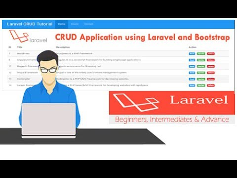 How to Make Laravel 5.4 CRUD Tutorial using Bootstrap
