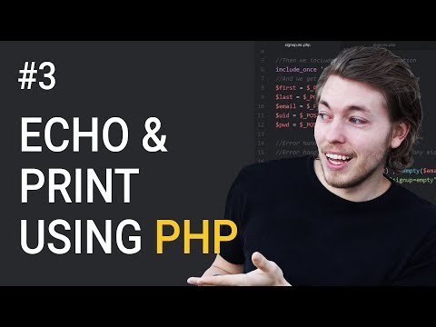 3: Output In Browser Using PHP | PHP Tutorial | Learn PHP Programming | PHP for Beginners