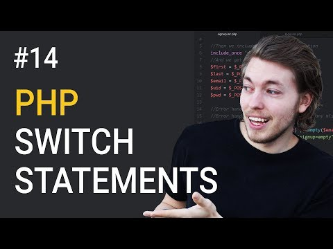 14: Switch Statements in PHP | PHP Tutorial | Learn PHP Programming | PHP for Beginners