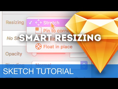 Smart Resizing (Responsive Design) • Sketchapp Tutorial / Sketch 3 Tutorial