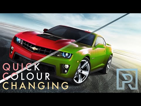 Online Photoshop Tutorials - Quick Colour Changing
