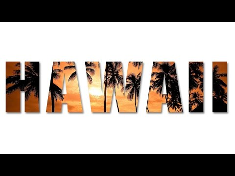 HAWAII Text Effect in Photoshop CC, CS6, CS5 | Photoshop Text Effects Tutorial