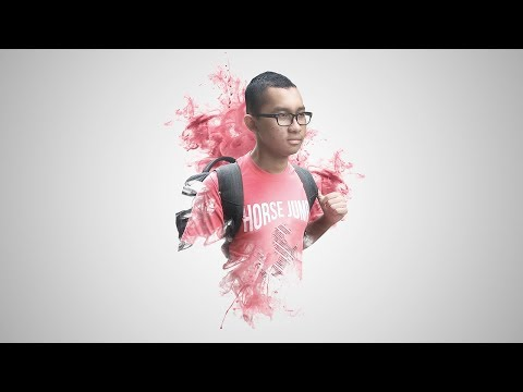 Photoshop Tutorials - Ink Smoke Face Effect