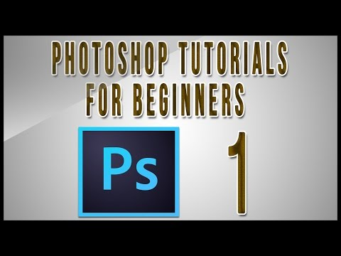 Photoshop Tutorials For Beginners (Part 1)