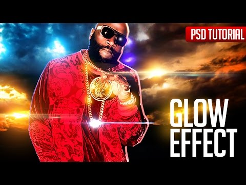 Photoshop Tutorials Glow Effects for Mixtape Cover Flyer Party Club Designs
