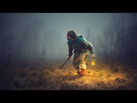 Photoshop Manipulation Tutorial - Adding Light Effects in Photoshop