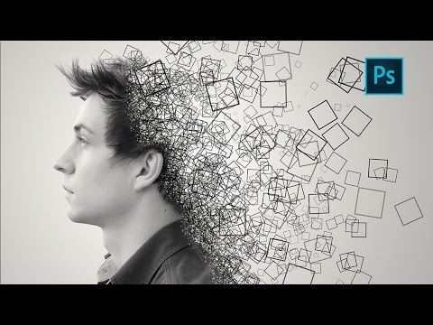 Photoshop Tutorial | Dispersion Effect
