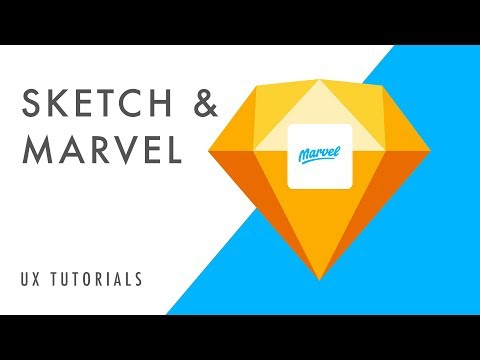 UX Tutorials | How to Rapid Prototype with Sketch and Marvel