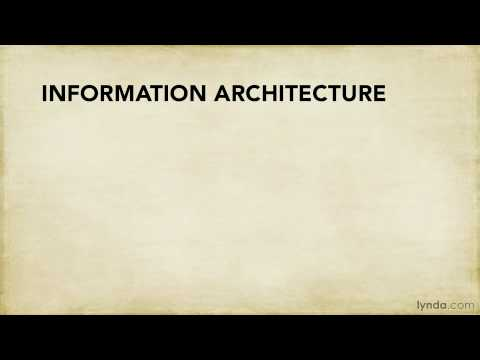 UX tutorial: Why do information architecture research? | lynda.com