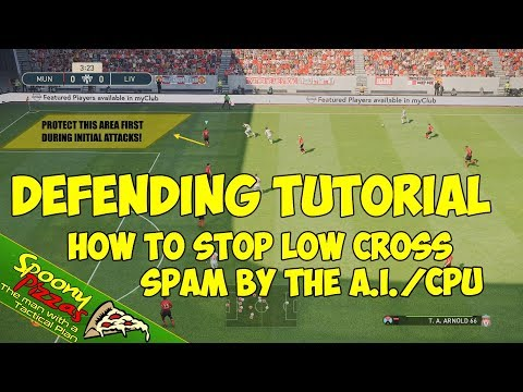 PES 2019 | Defending Tutorial | How to STOP LOW CROSS SPAM by the AI!