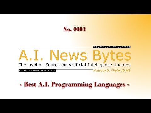 No. 0003 - Best A.I. Programming Languages