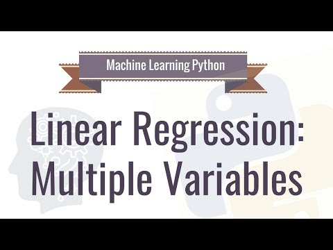 Machine Learning Tutorial With Python - 3: Linear Regression Multiple Variables