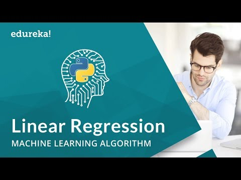 Linear Regression Algorithm | Linear Regression in Python | Machine Learning Algorithm | Edureka