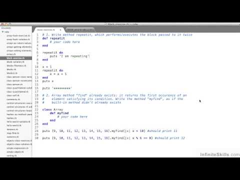 Ruby On Rails Tutorial | Iterators And Blocks - Exercise Review