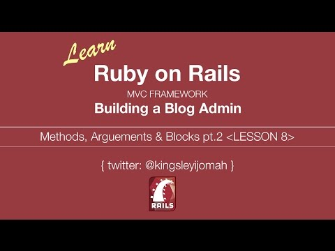 Learn Ruby on Rails Tutorials for Beginners (Building Admin System) - Lesson 9