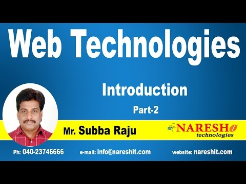 Introduction to HTML - Part 2 | Web Technologies Tutorial