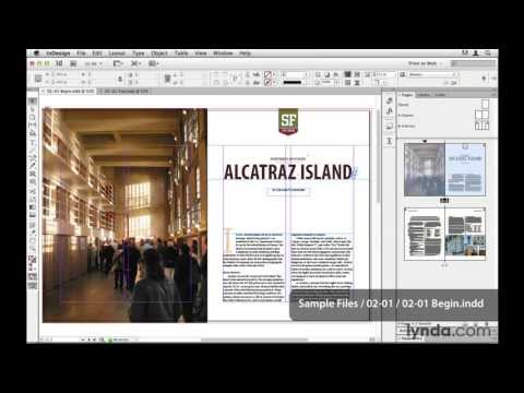 InDesign and HTML tutorial: InDesign and HTML overview | lynda.com