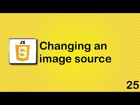 JavaScript beginner tutorial 25 - changing an image source