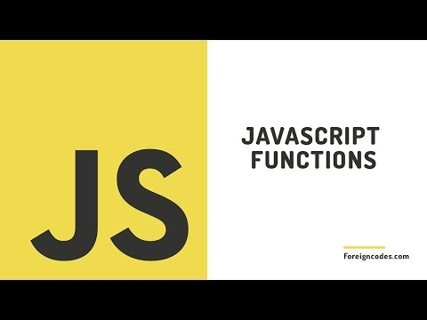 Functions in JavaScript Explained 10 - [Javascript Course]