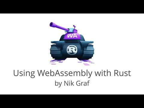 Using WebAssembly with Rust
