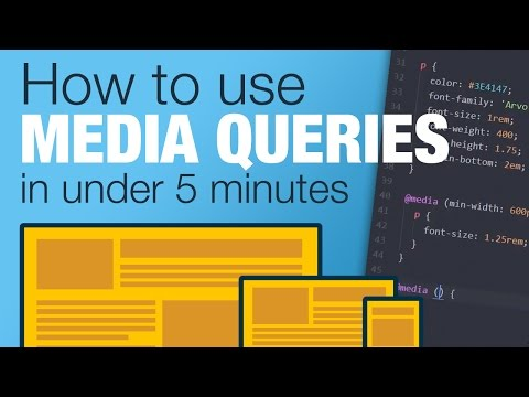 Tutorial: Learn how to use CSS Media Queries in less than 5 minutes