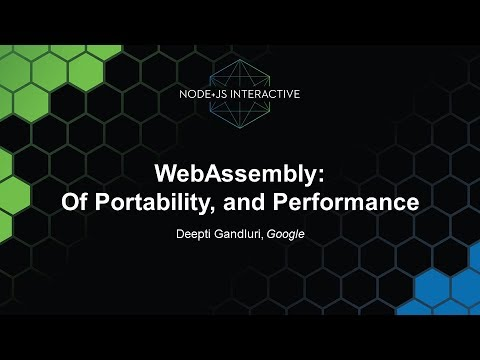 WebAssembly: Of Portability, and Performance - Deepti Gandluri, Google