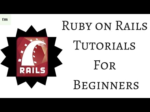 Ruby on Rails Tutorials for Beginners