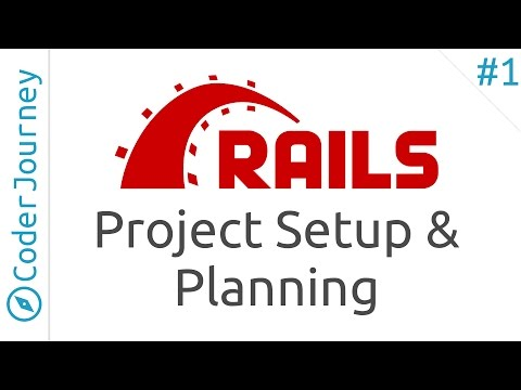 Learn Ruby on Rails - Part 1 - Project Setup and Planning