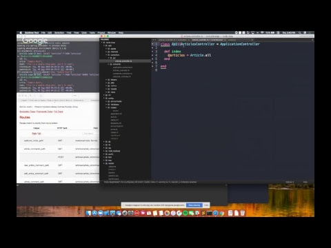 Ruby on Rails Crash Course: 2 Hour Dive into Rails for Developers