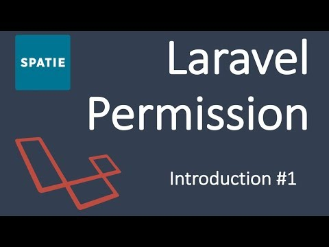 Spatie Laravel Permission Package Tutorial | Introduction #1