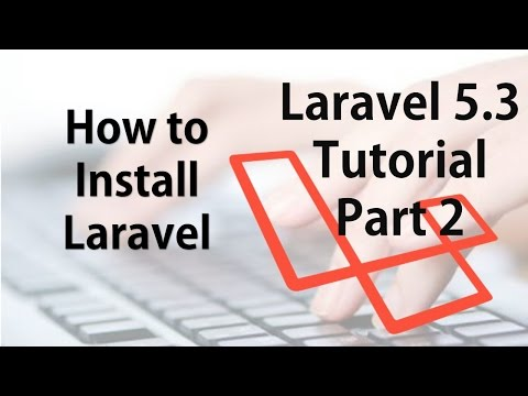 Laravel 5.3 Hindi Beginner Tutorials Part 2- How to Install Laravel