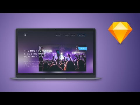 Sketch Tutorial – Create a web design in Sketch App