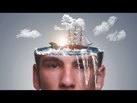 Photoshop Tutorial | 'Water Head' Manipulation