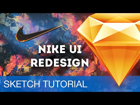 Sketch 3 Tutorial • Nike Store UI Redesign • Sketchapp Tutorial & Design Workflow