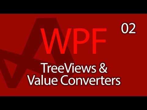 C# WPF UI Tutorials: 02 - TreeViews and Value Converters