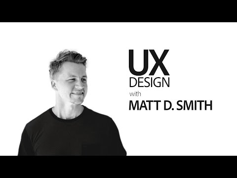 Live UI/UX Design with Matt D. Smith - hosted by Paul Trani 1/3