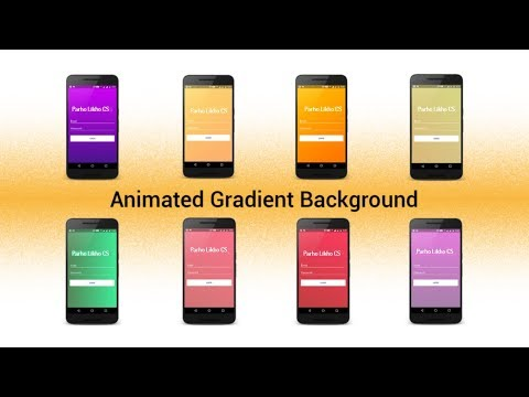 Android Kotlin Tutorials Animation Background UI UX