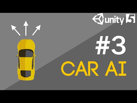 Car AI Tutorial #3 (Unity 5 ) - Steering by Itself