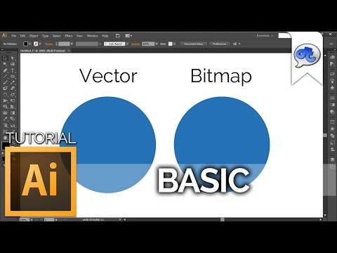 Adobe Illustrator | TUTORIAL #1 : BASIC (Bahasa Indonesia) + Eng Sub