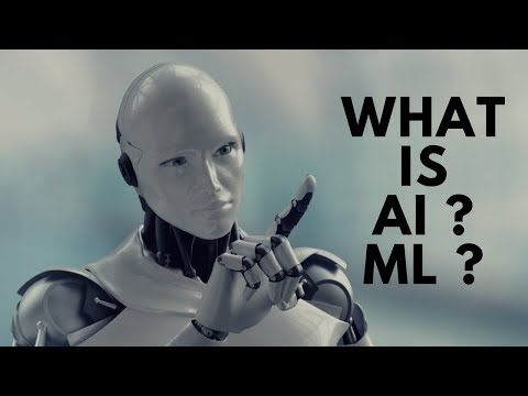 What is Artificial Intelligence & Machine Learning Exactly? | Tutorial for Beginners
