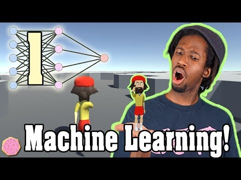 🖥️ WRITING MY FIRST MACHINE LEARNING GAME! (1/4)