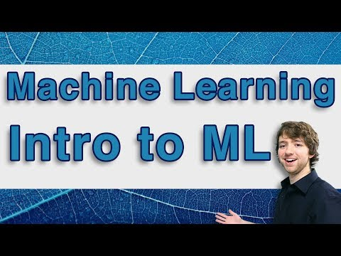 Machine Learning Tutorial 1 - Intro to Machine Learning and A.I.