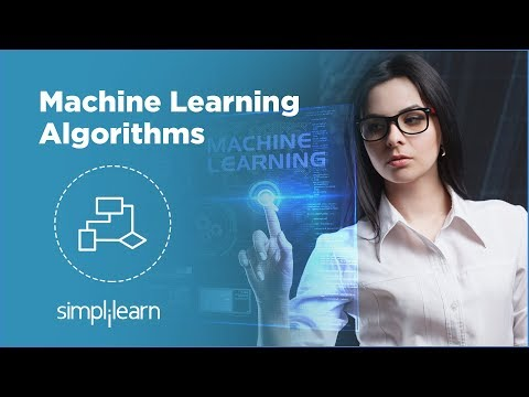 Machine Learning Algorithms | Machine Learning Tutorial | Data Science Algorithms | Simplilearn