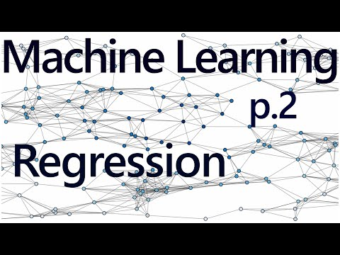 Regression Intro - Practical Machine Learning Tutorial with Python p.2