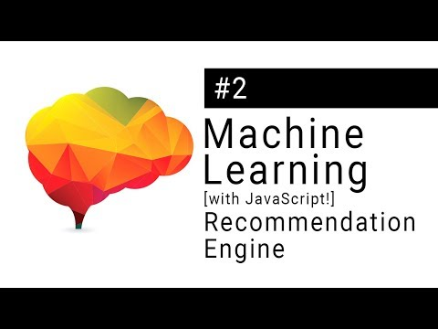 Machine Learning Tutorial - Making a recommendation engine IN THE BROWSER